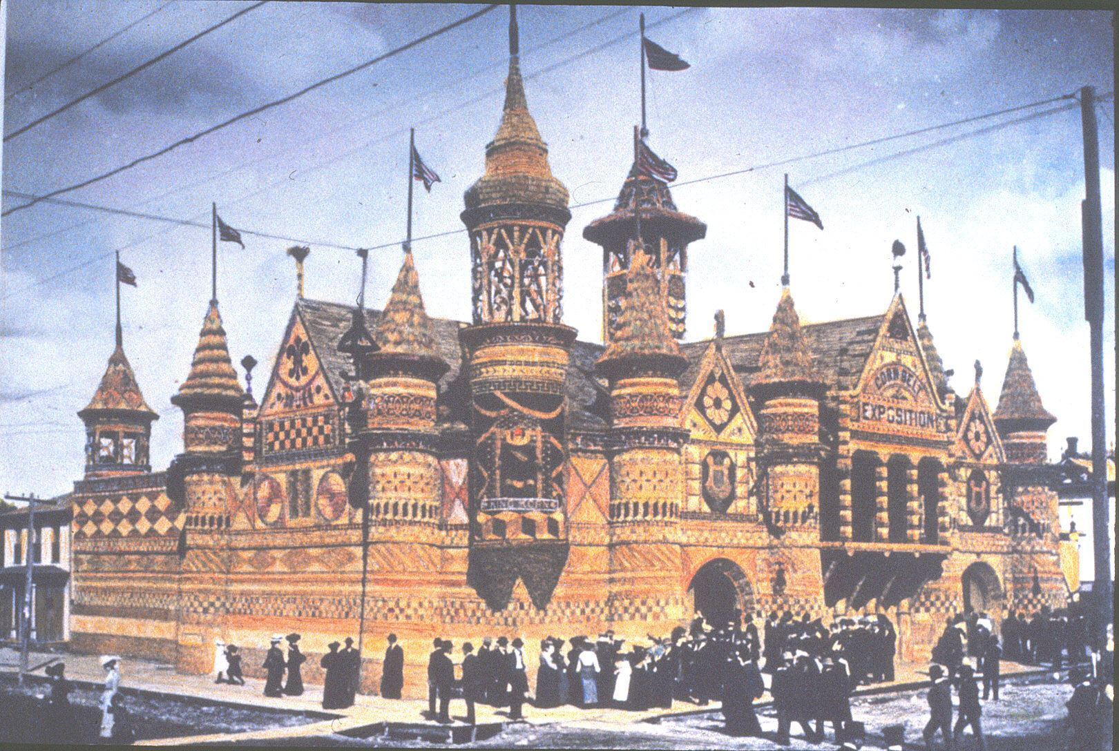 An image of the Corn Palace from 1902.
