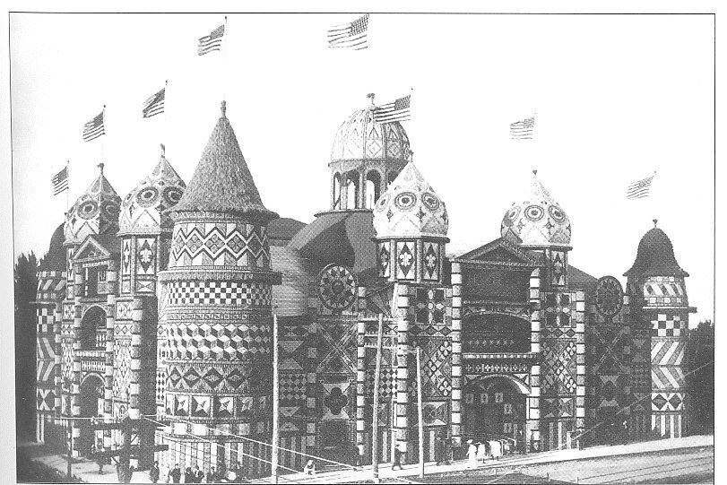 An image of the Corn Palace from 1906.