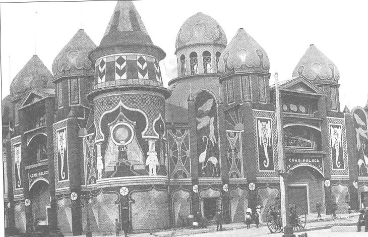 An image of the Corn Palace from 1912.