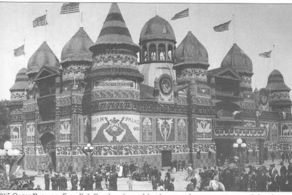 An image of the Corn Palace from 1915.